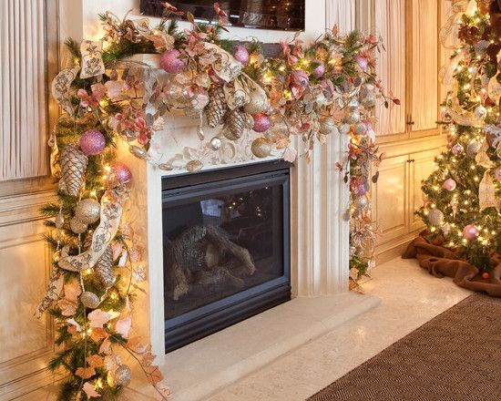 Pink Christmas Design, Pictures, Remodel, Decor and Ideas