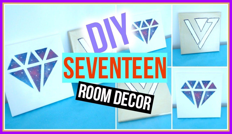 Diy Kpop Seventeen Room Decor Kpopstyled My New Room Bode