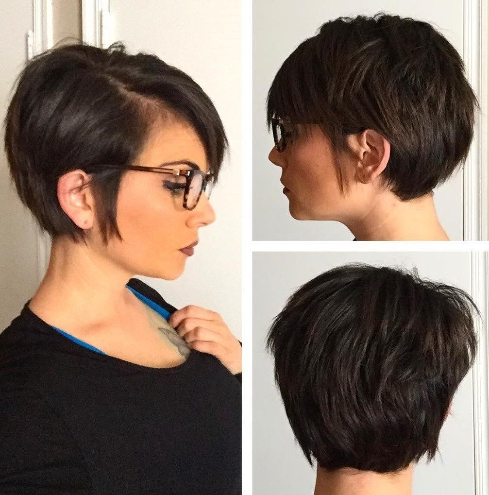 60 Classy Short Haircuts And Hairstyles For Thick Hair Haircut For Thick Hair Thick Hair Styles Pixie Bob Hairstyles