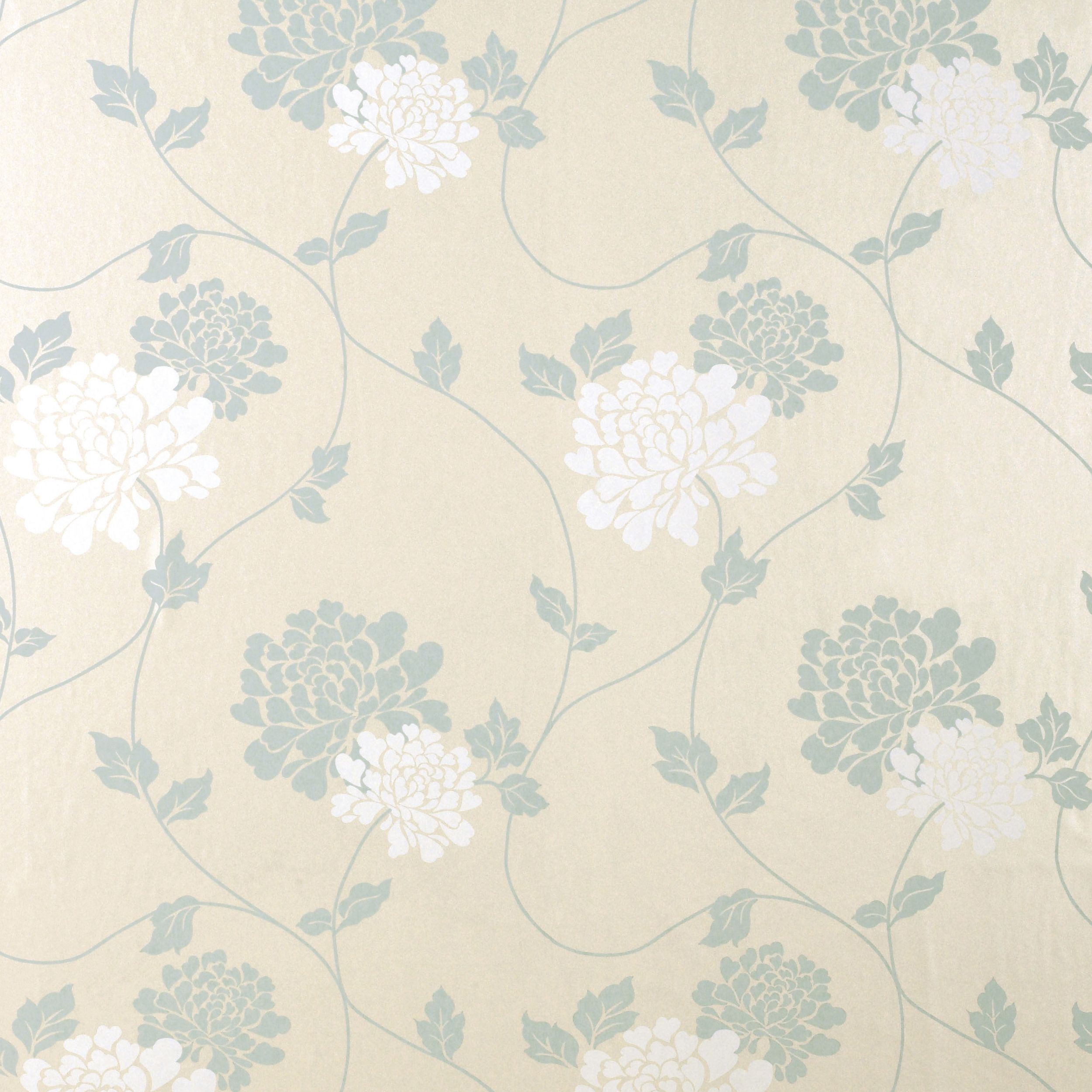Isodore duck egg floral wallpaper at laura ashley - Laura ashley sevilla ...