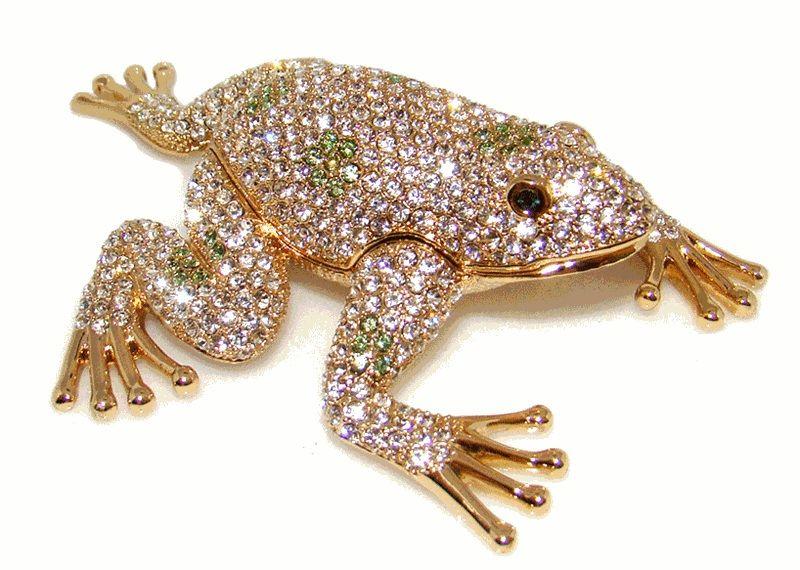 Large Frog Jewelry Box Jewelery Frogs Frsche Kurbalar