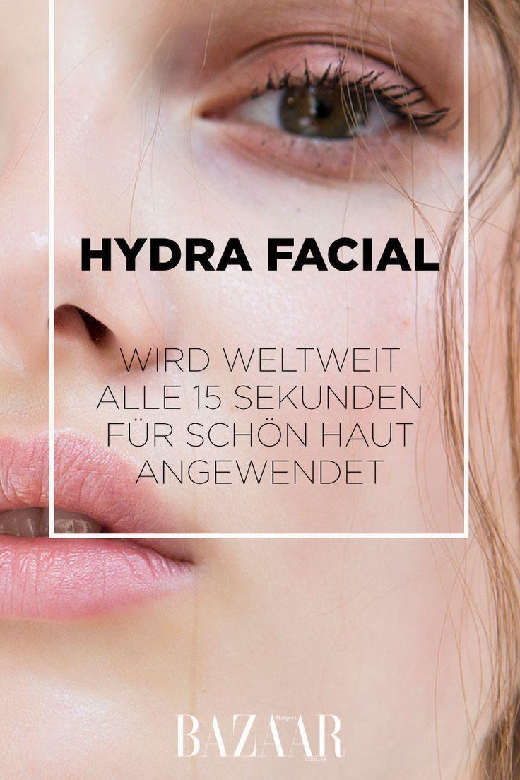 Hydra Facial: Treatment für schöne Haut