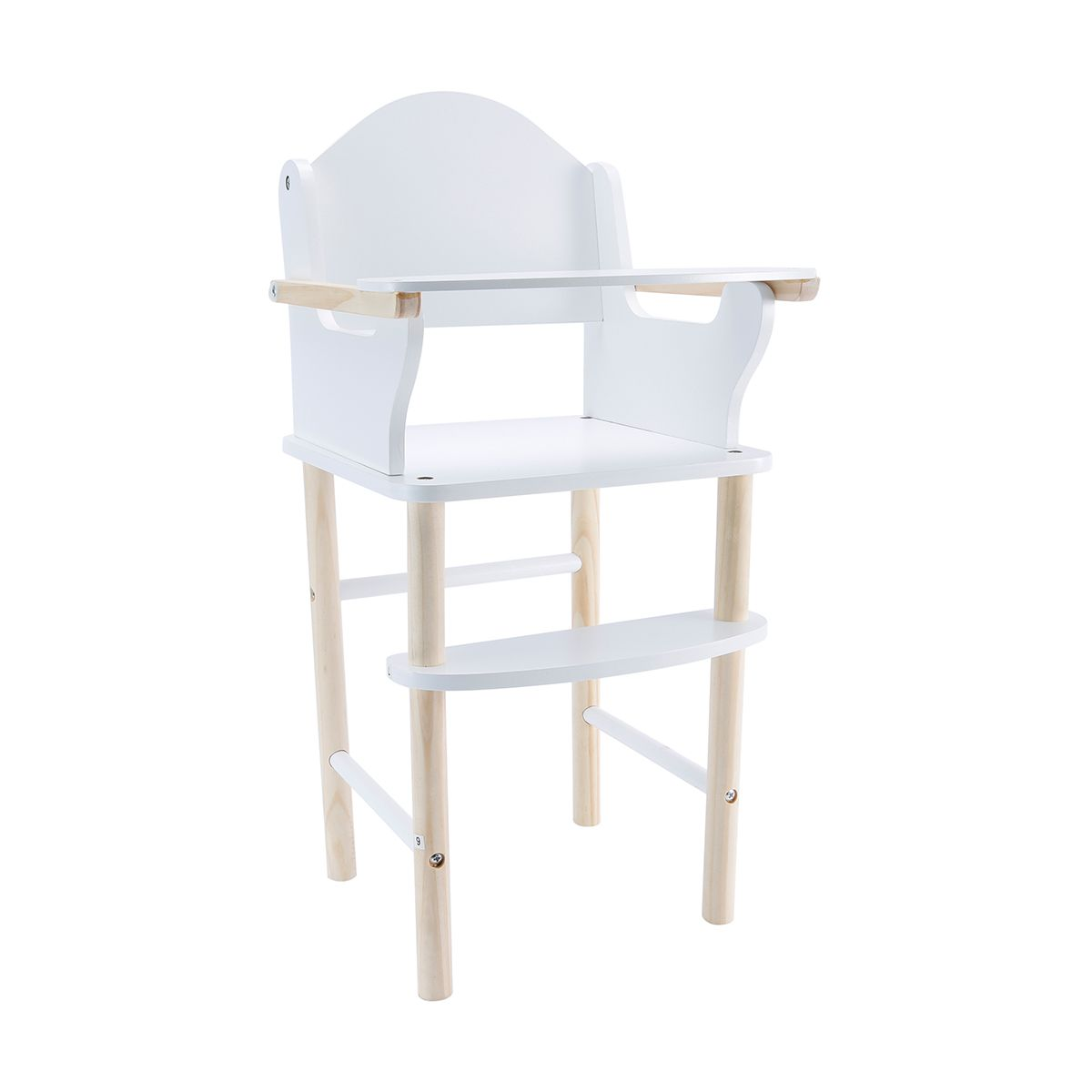 High Chair Kmart Wooden Highchair Baby S Kitchen Chair Furniture Nursery