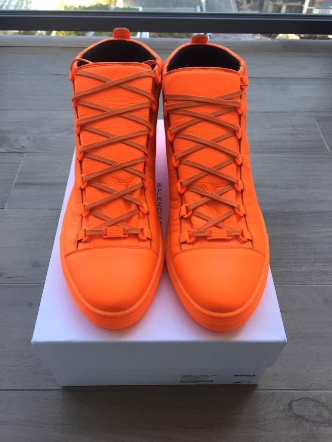 Balenciaga Bright Orange Balenciaga