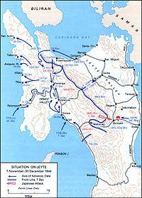 Schlacht Um Stalingrad Karte.Schlacht Um Leyte Wikipedia 20 Jahrhundert