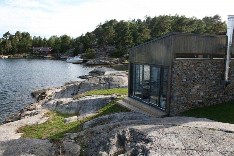 Buholmen Cabin by Skaara Arkitekter AS Cottage style house plans