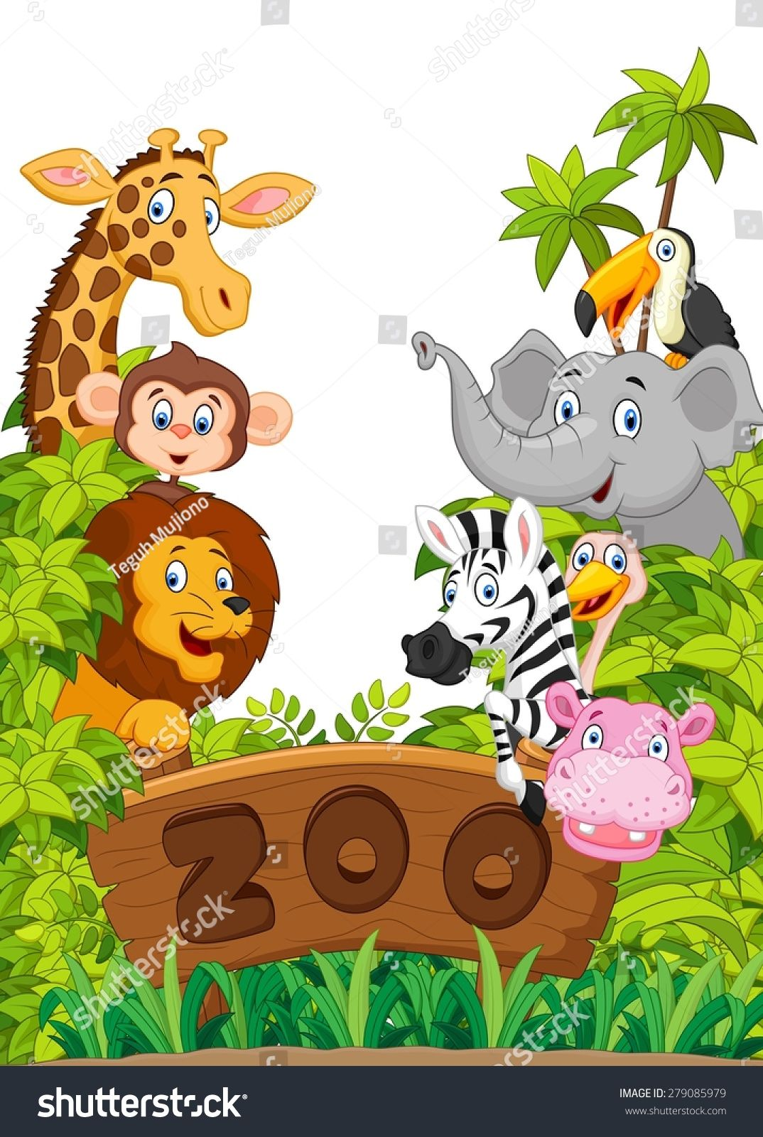 Collection of zoo animals Ad , Affiliate, Collection
