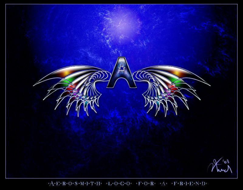 Aerosmith Logo Wallpaper Aerosmith Aerosmith Rock Bands Wings