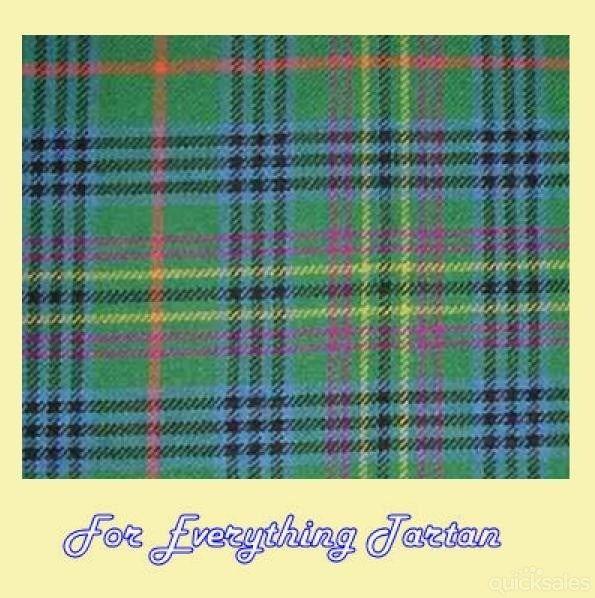 Kennedy Antique Clan Tartan Lambswool Blanket Throw By Jmb7339 150 00