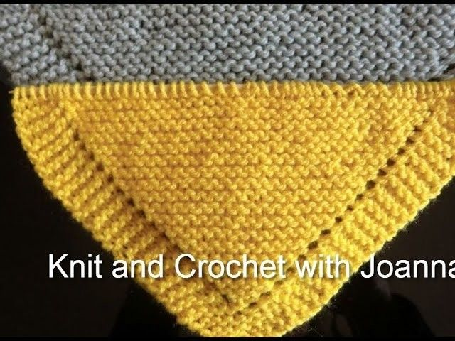 Knitting Pattern For A Shawl. Perfect Also For Beginners - Diy Crafts