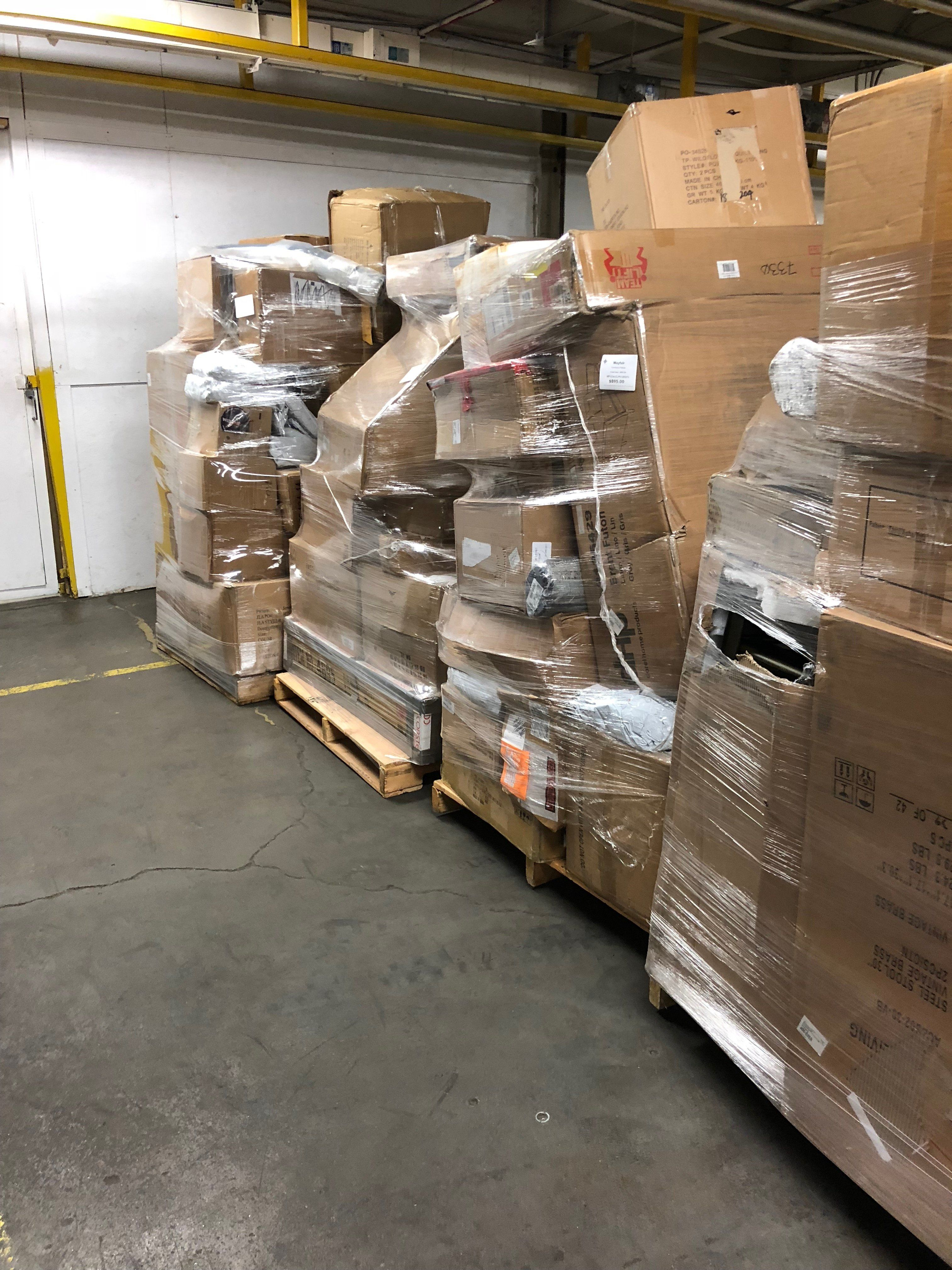 Wayfair Pallets-CLICK FOR DETAILS #overstock