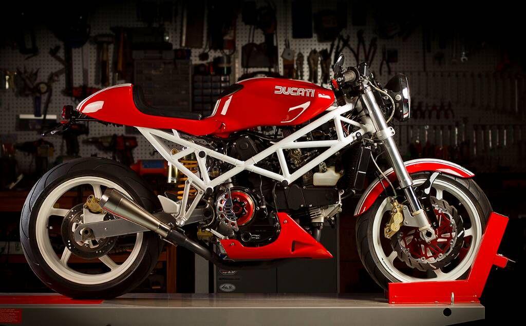 Ducati St2 Desmo Custom Cafe Racer Racers