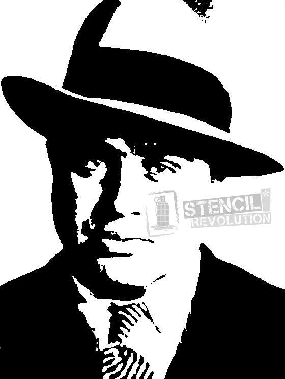 download your free al capone stencil here  save time and
