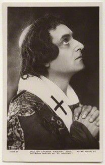 Cavendish Morton as St Dunstan, by Cavendish Morton, published by Rotary Photographic Co L