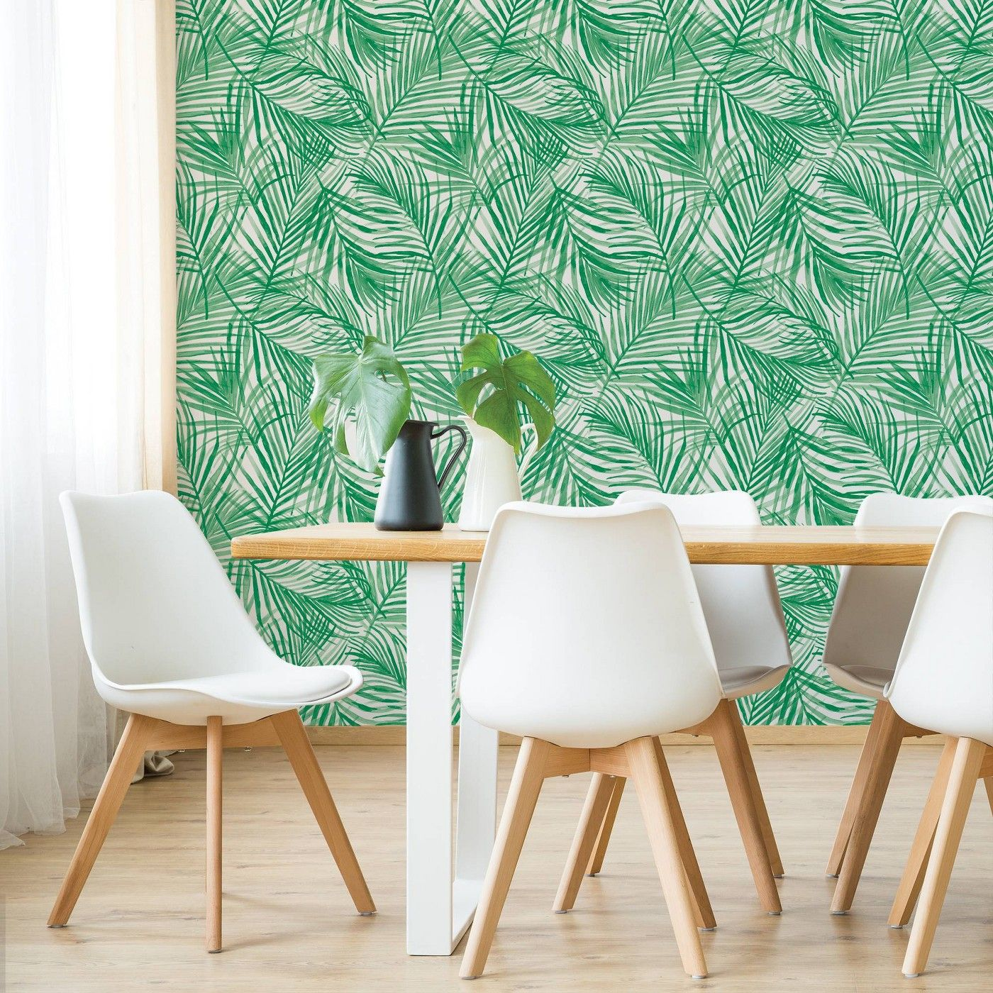 Devine Tropical Wallpaper Green Devine Color Tropical