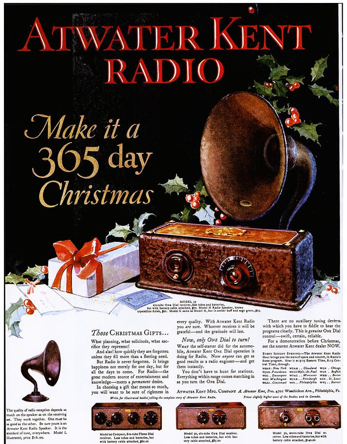Atwater Kent Radio 1920s Usa Radios by The Advertising