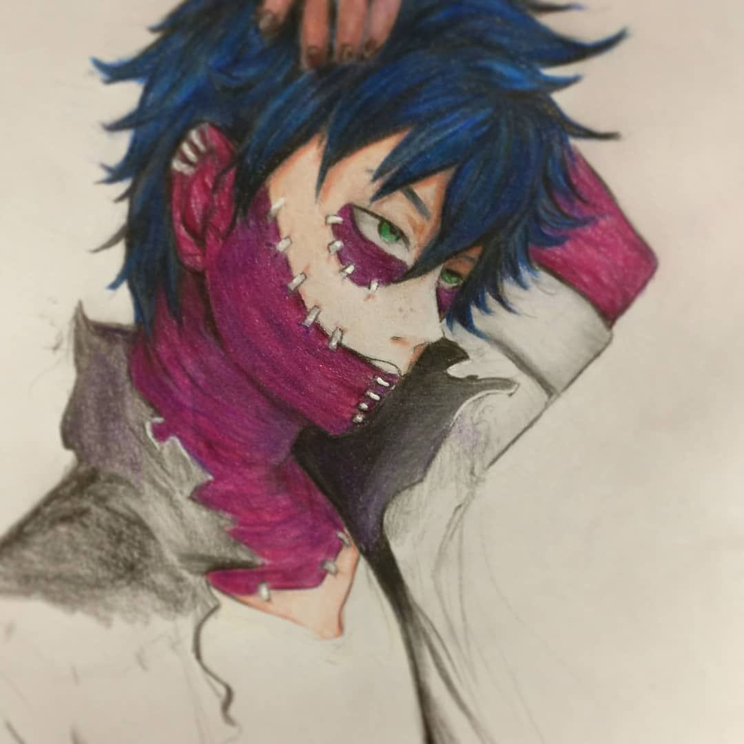 Messed Up The Color Fanart Dabi Bokunoheroacademia Myheroacademia Drawing Color Anime Manga Male Animeboy Evil Sketch D Drawings Anime Boy Anime