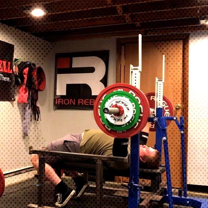 330 for 5 at RPE 8. Bench strength is coming back a little. - - - Use JohnF10 for 10% off at @ironr
