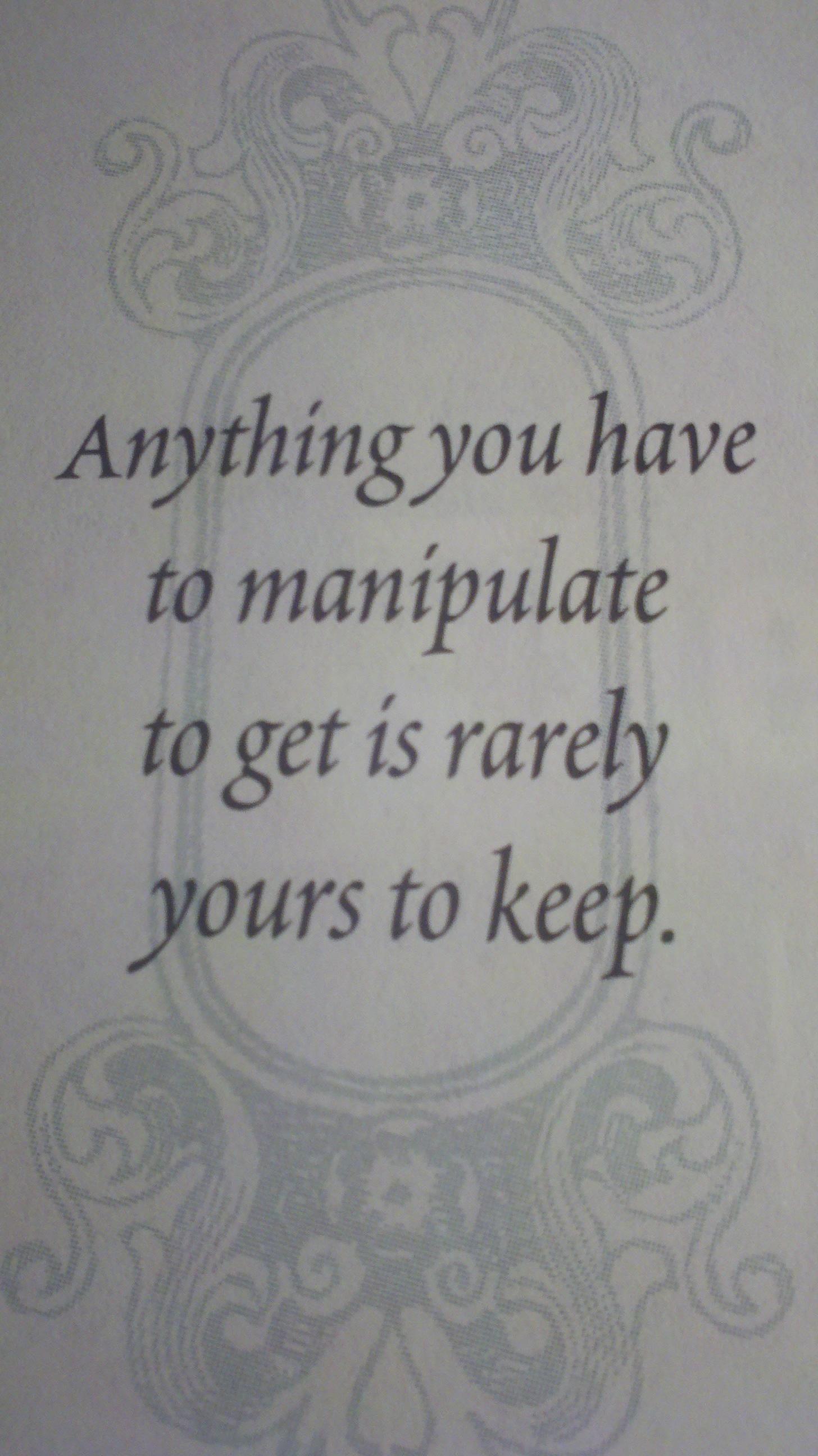 Manipulation Manipulation Quotes Jm Storm Quotes Storm Quotes