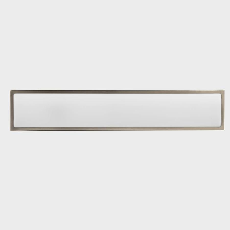 Allen Roth Mcaden 1 Light Nickel Modern Contemporary Vanity Light Bar Lowes Com Vanity Light Bar Led Vanity Lights Vanity Lighting