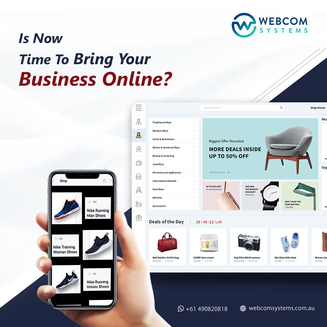 Is Your Business Ready To Grow Online In 2020 Agency Website Design Website Design Website Design Services
