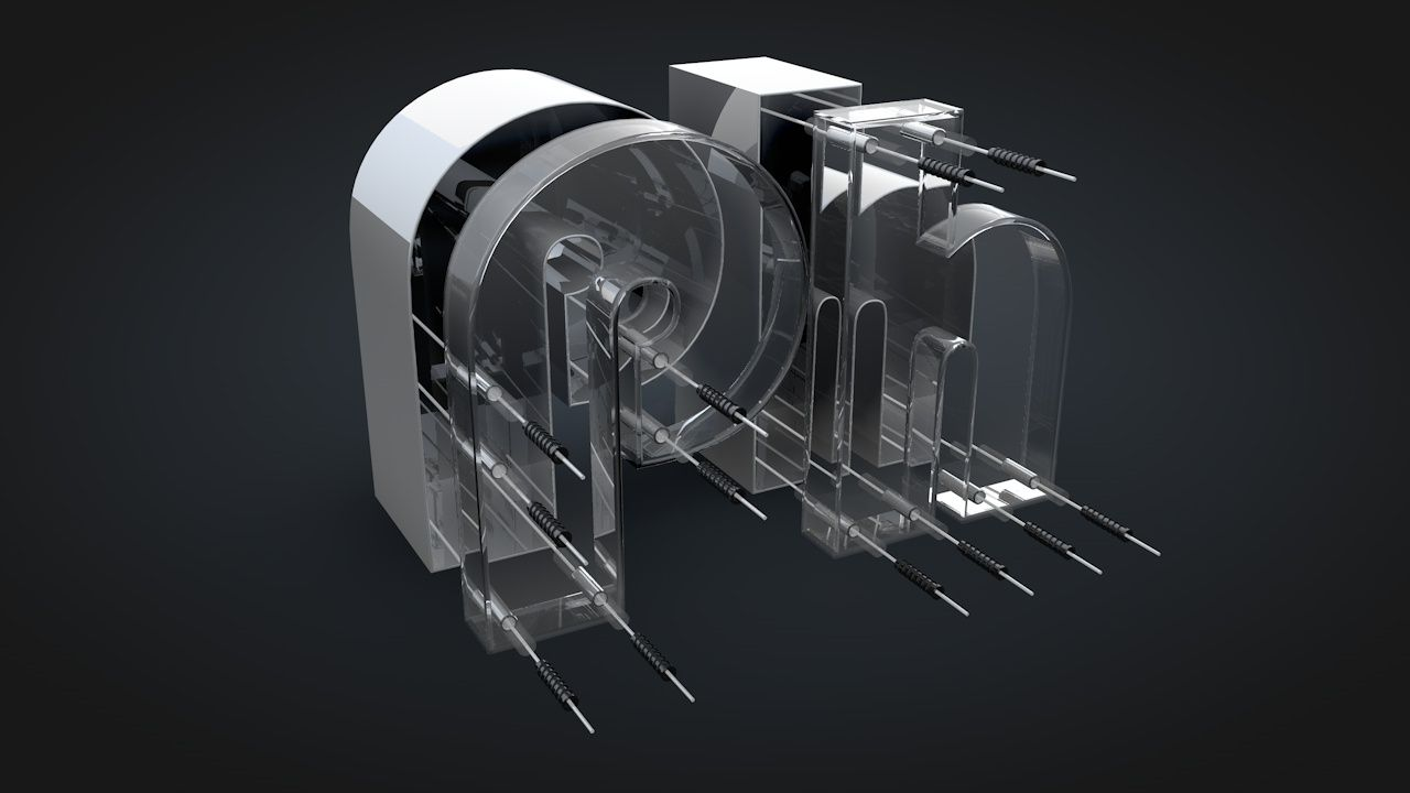 Logo Ph en C4D