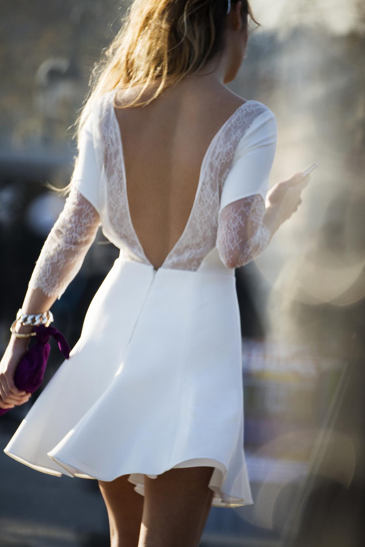 Courthouse wedding dresses under $100  Vestidos cortos para novias poco o nada tradicionales  Vestidos