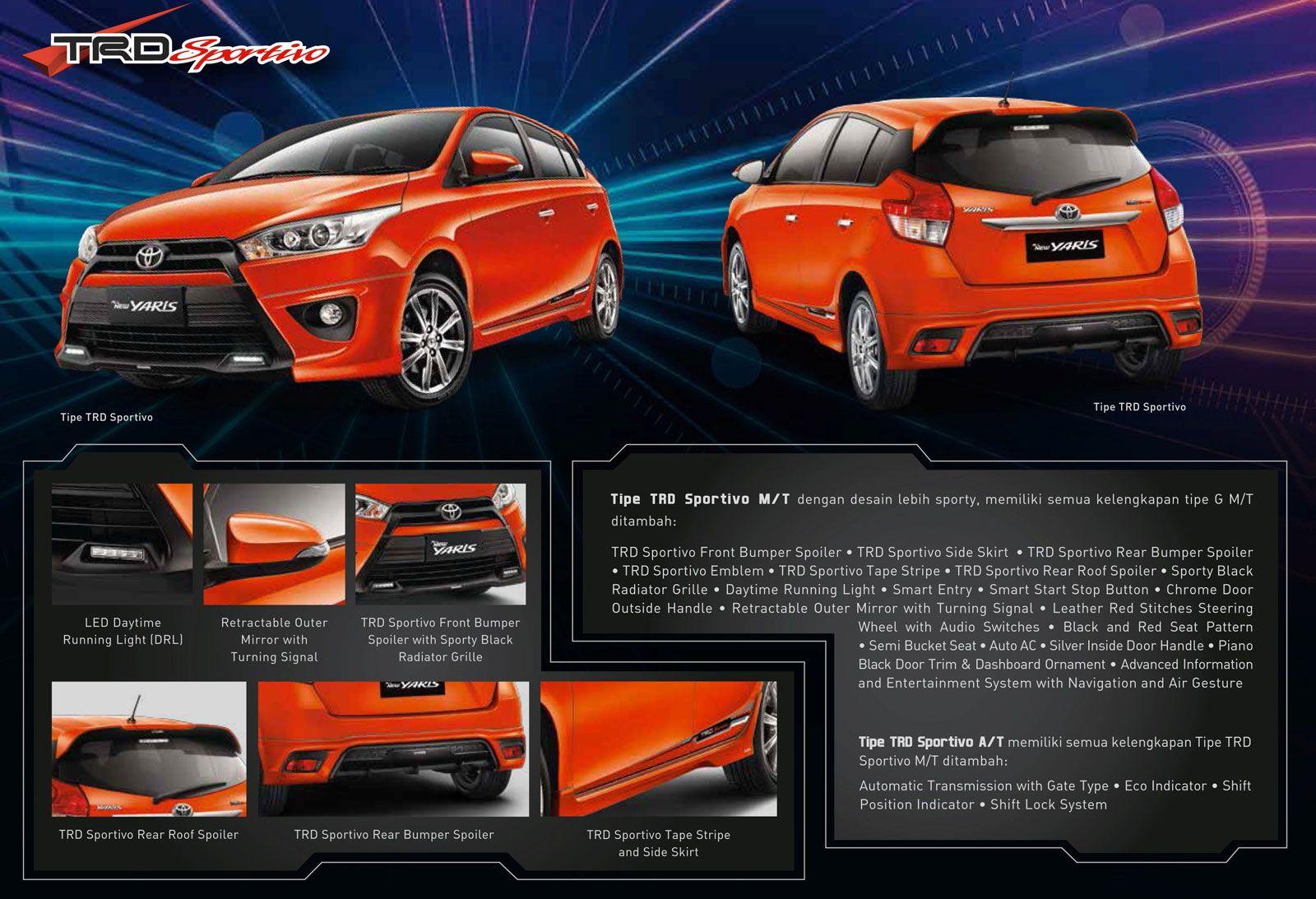 Daftar Harga Resmi All New Toyota Yaris Otr Jakarta Yaris