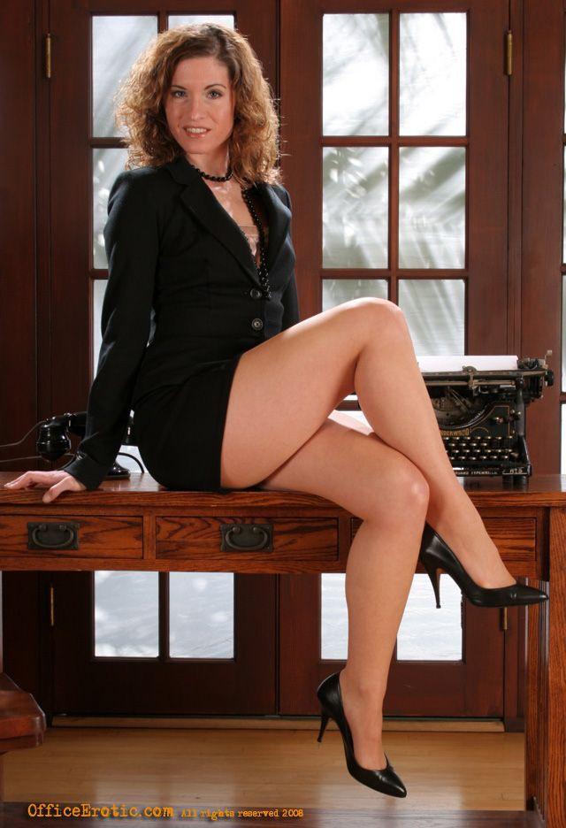long legged secretary