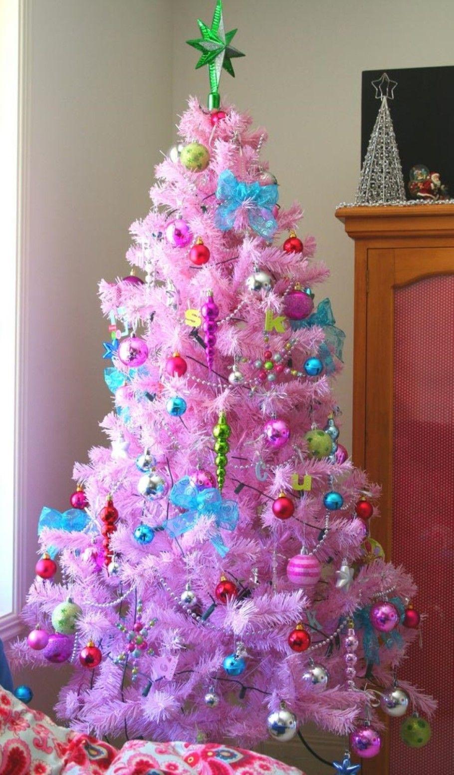 Decoracion de navidad con unicornios decoracion navide a - Decoracion de arboles navidenos para ninos ...