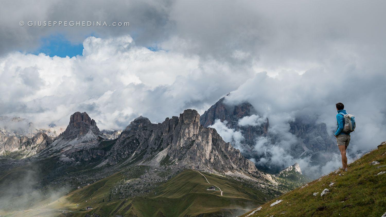 Passo Giau dal Monte Cernera _ Dolomiti