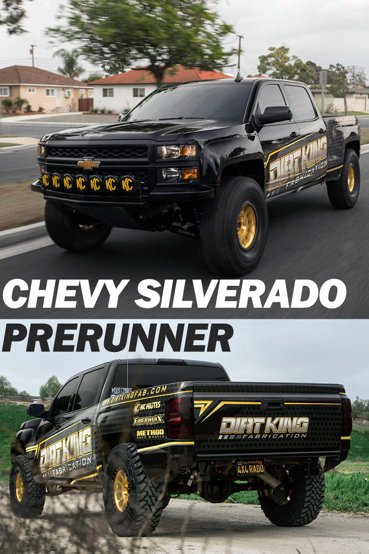 Chevy Silverado Pre Runner Build How To Chevy Silverado Custom Chevy Trucks Chevy