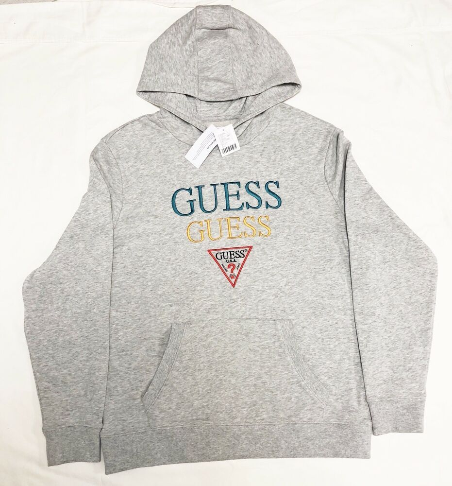 Guess Jeans Sweater T shirt sweat Top Blouse Zip Front Cardigan NWT Hoodie XS S