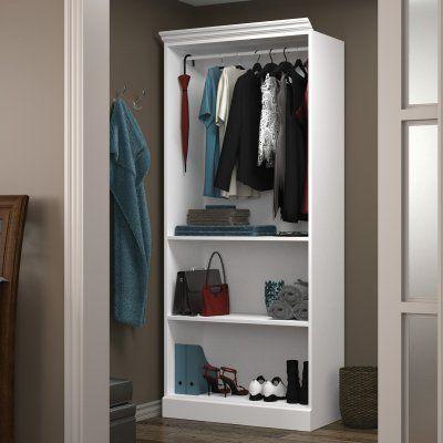 Versatile by Bestar 40160 36 in. Closet Storage Shell - 40160-2117