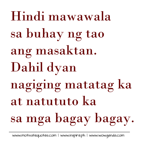 Tagalog Sad Love Quotes