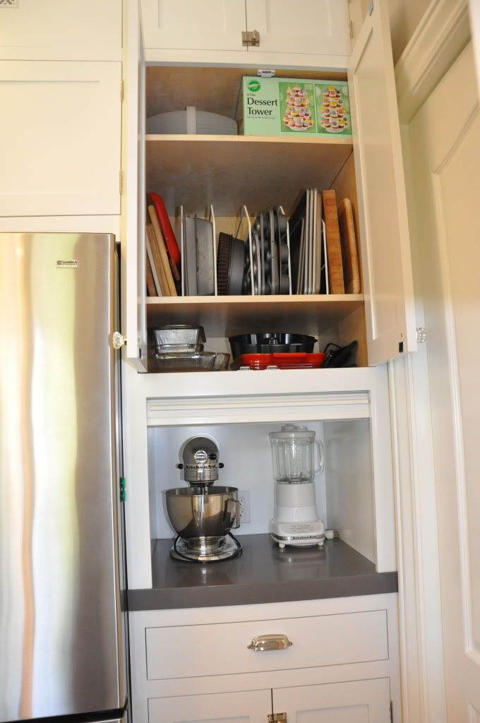 Baking station! <3. A piece of furniture or built ins. . .  This would be so great to have!
