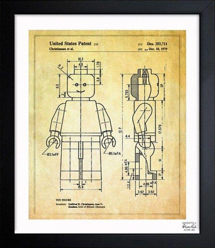 Lego blueprint poster house ideas pinterest lego kids rooms lego blueprint poster malvernweather Images
