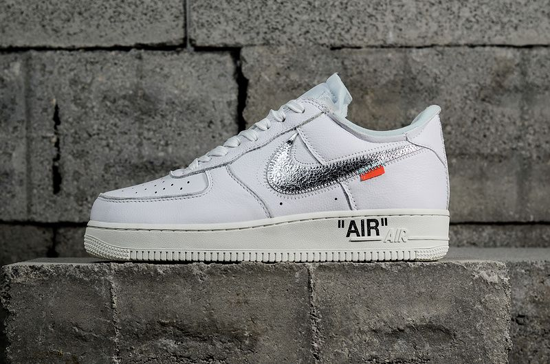 site réputé 0a2a4 bd0b6 2018 UK Trainers Air Force 1 Low 07 Off-White blanc Off ...
