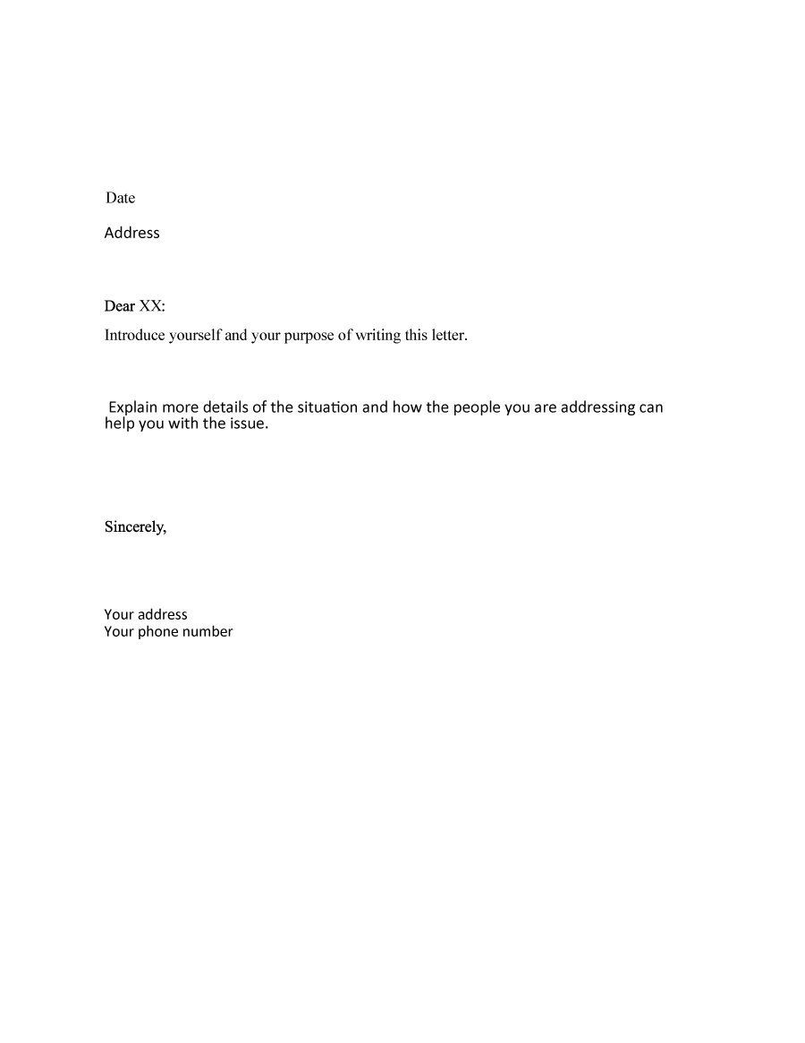 formal business letter format templates amp examples template lab sample explanation best free home design idea inspiration