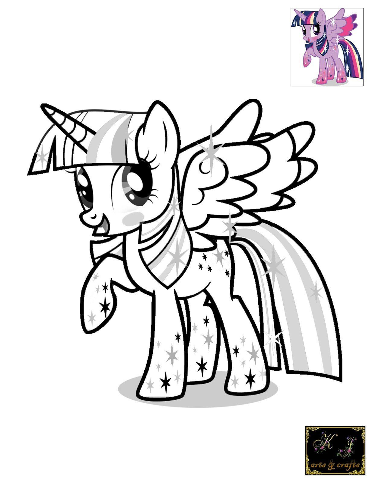 34+ Princess twilight sparkle coloring page ideas in 2021