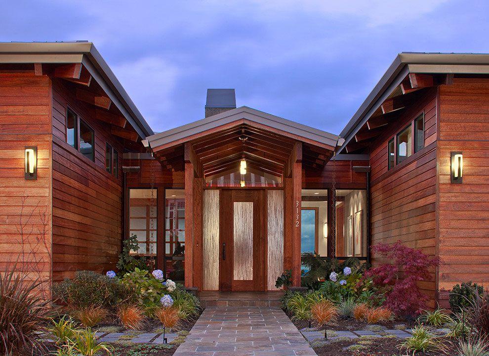 Ingressi Esterno Di Casa : Facciate ed esterni di case moderne dal design asiatico case da