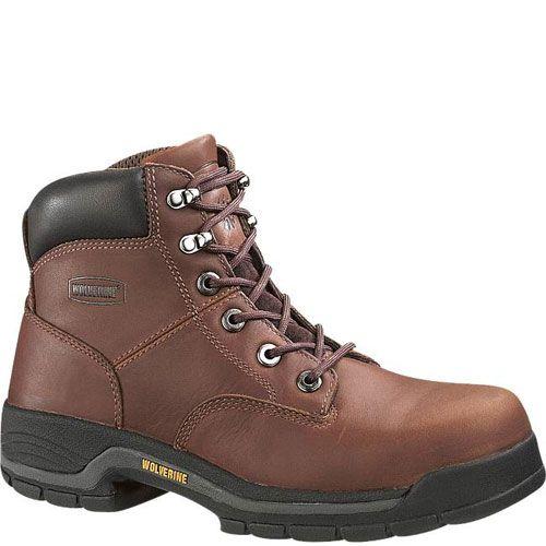 93090691ef84 W04904 Wolverine Men s Harrison 6IN Safety Boots - Brown