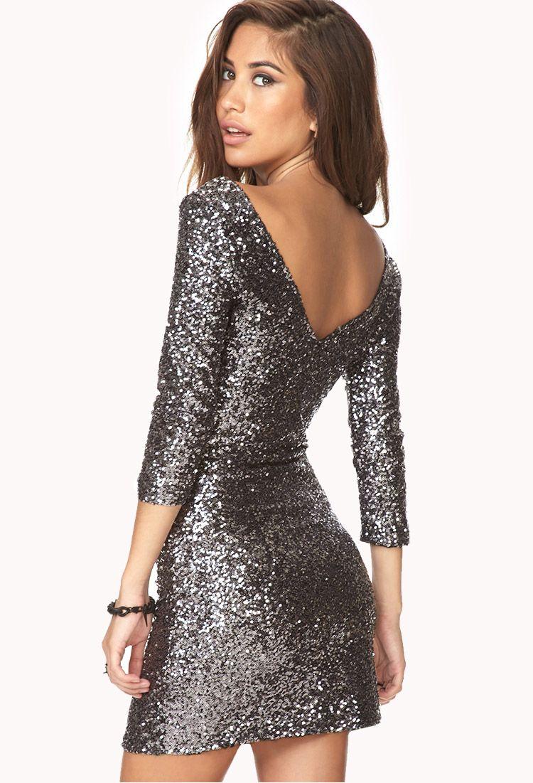 Forever 21 Sequin Dress