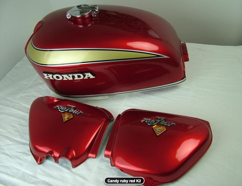 Honda Cb 750 Four K2 Candy Ruby Red