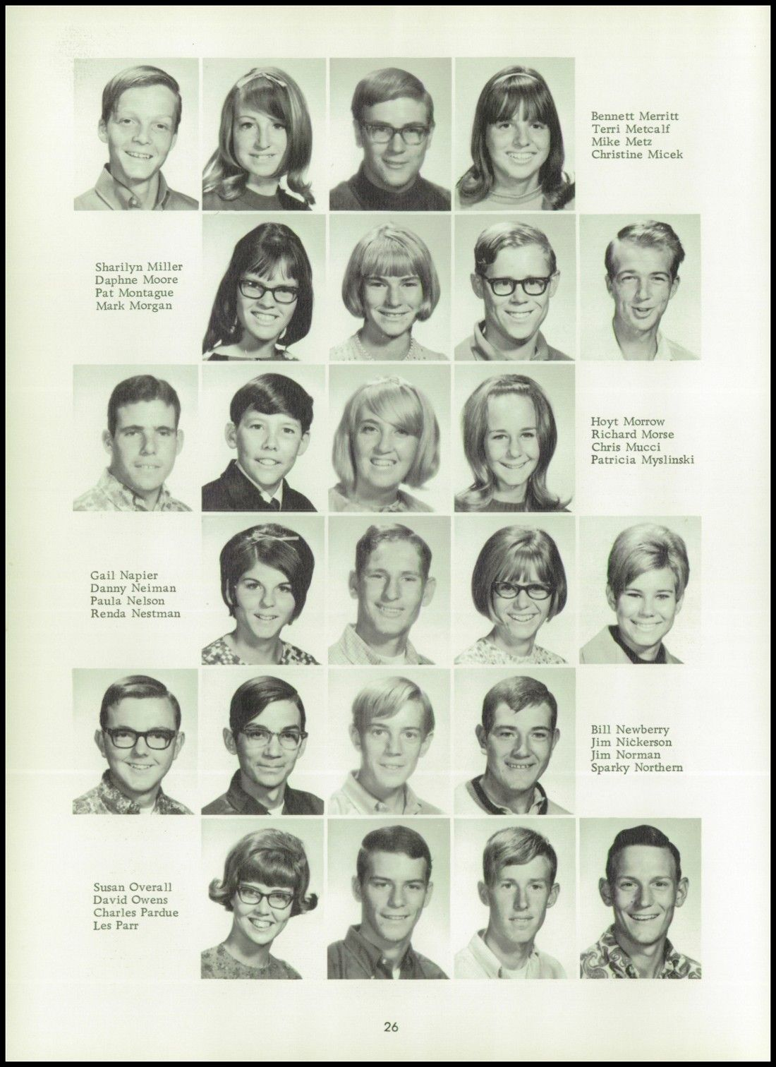 1968 Apple Valley High School Yearbook via Classmates com | Back in
