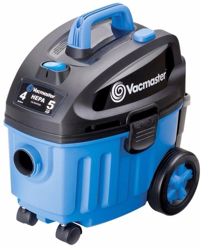 Powerful 4Gallon 5 HP Wet Dry Household Vacuum HEPA