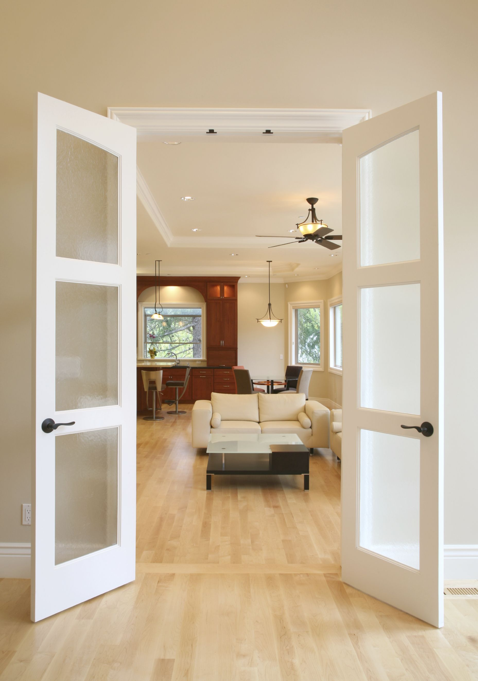 Interior french doors interior french doors - Solid French Doors Interior Photo