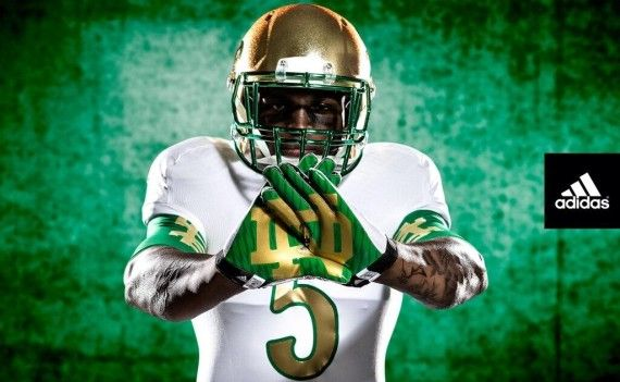 Video: Notre Dame unveils 'Shamrock Series' uniforms for Arizona State game http://gamedayr.com/gamedayr/video-notre-dame-shamrock-series-uniforms-arizona-state-game/