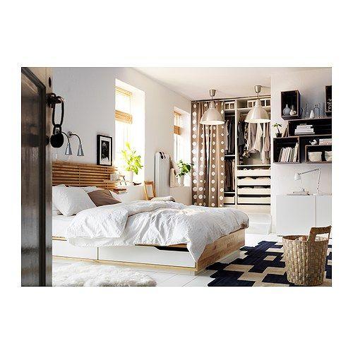 mandal t te de lit bouleau blanc future chambre pinterest tete de lit ikea lit ikea et ikea. Black Bedroom Furniture Sets. Home Design Ideas