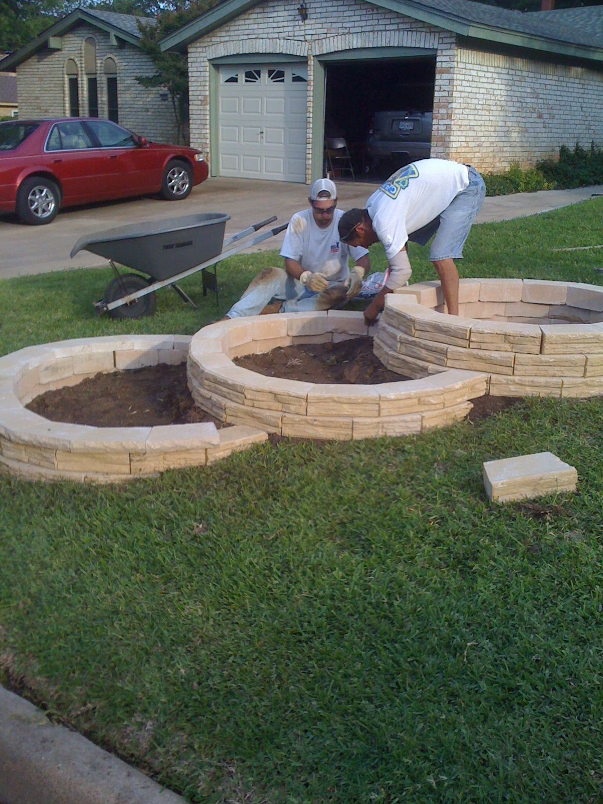 Tiered Flower Beds Gardening Tools Backyard Landscaping
